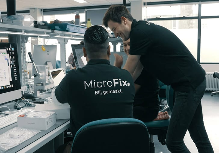 MicroFix Samsung reparatie rotterdam