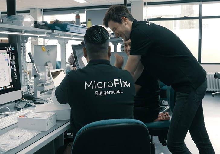 MicroFix smartphone scherm reparatie