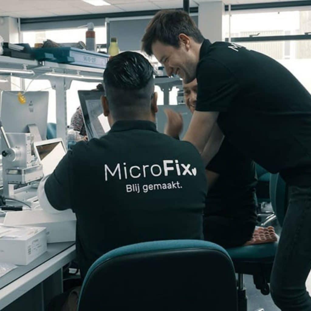 microfix telefoon batterij vervangen