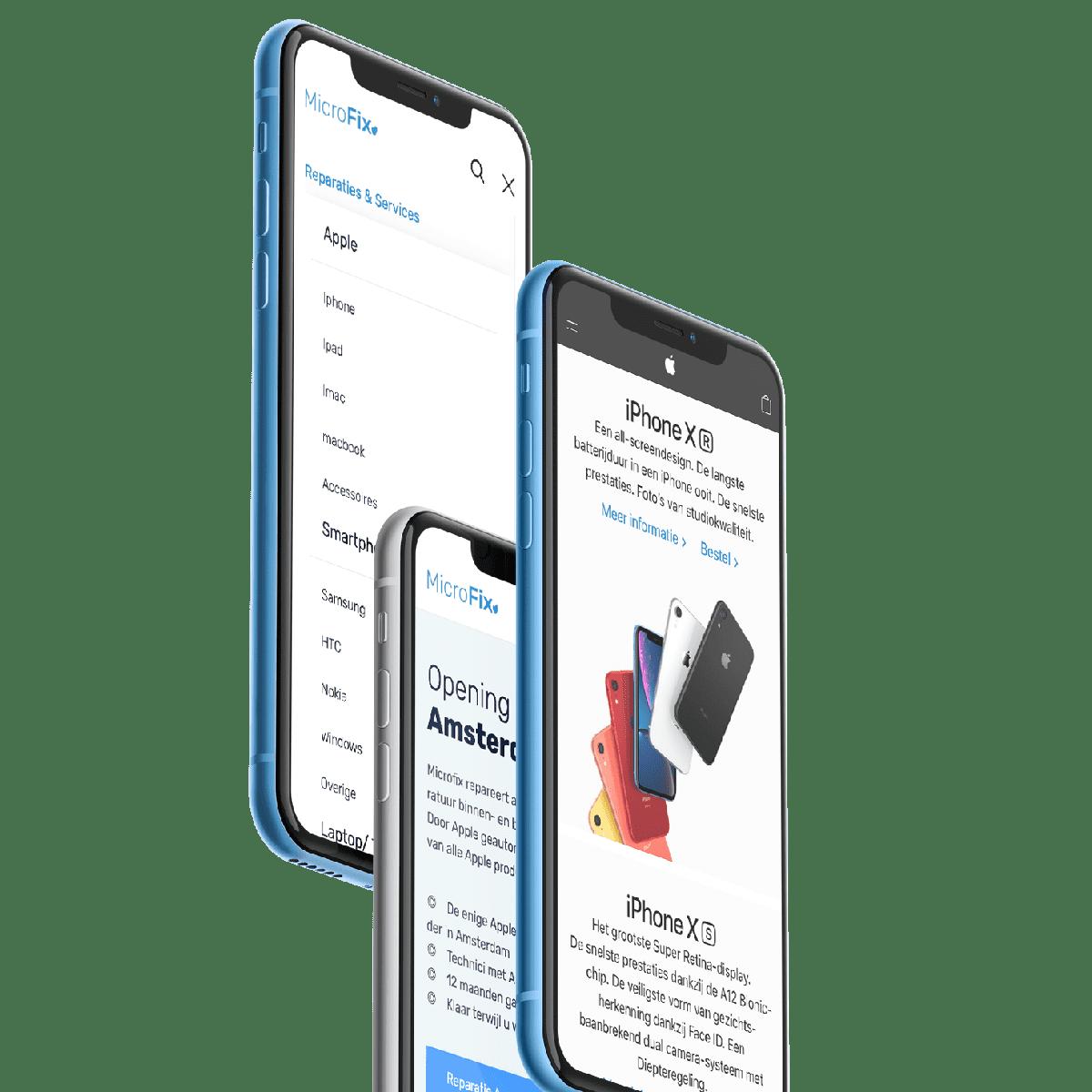 iphone schermreparatie leiden